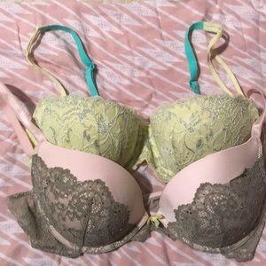 Victoria Secret/ Pink Bras
